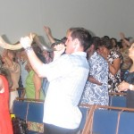 Blowing the Shofar of the Lord