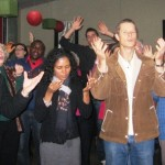 People surrender to the Lord in Cootamundra, NSW