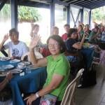CTFM team at hotel in Sri Lanka