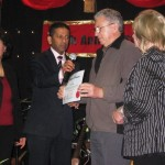 Paul and Wife Margaret from SA receiving Minister Credential from Ps Daniel and wife Maryse