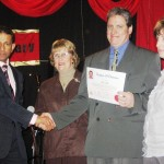 Ryan with wife Michelle receives Minister Credential