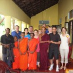 CTFM team sharing the love of Jesus at Buddhist temple