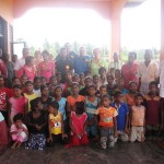CTFM team with God's precious children at an orphanage in Sri Lanka