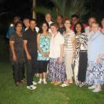 CTFM team with Sri Lankan leadership at Pr Daniel's sister's home in SL