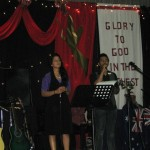 Special song from Nigel and Shannen Nalliah