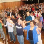Part of the 750-800 Crowd at 2012 Australia Day Prayer Gathering in Melbourne