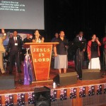 CTFM worship team led by Pr Daniel's daughter Shannen