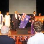 Pastor Daniel leads in RUA and Australia for Jesus shout