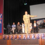 Pastor Donnie ministering the Word of God on Australia Day