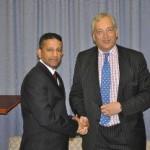 RUAP Party President Daniel Nalliah and Lord Christopher Monckton