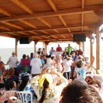 Praying on Sea of Galilee Boat Ride