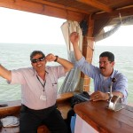 Israel tour guides join in praising Lord on Sea of Galilee boat ride