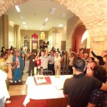 Couples renew marriage vows in Cana where Jesus turned water into wine