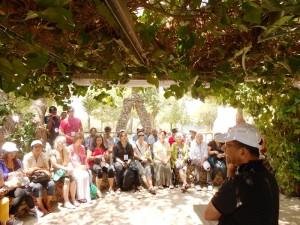 Pr Daniel preaches Word of God at Mt Carmel