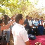 CTFM team joins in praying for Sri Lankan army soldiers