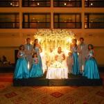 Nalliah family at extended family wedding