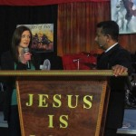 Young woman healed of hole in heart