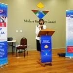 RUAP Vic State President addressing gathering