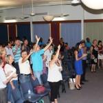 Worshipping King Jesus in Darwin