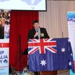 Australian Digger & Keynote Speaker addressing RUAP Campaign Meeting in Hallam