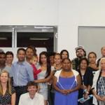 Group photo in Alice Springs