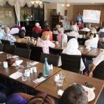 Daniel Nalliah speaking about RUAP @ breakfast meeting