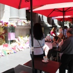 Lindt Cafe Prayer Collins St Melbourne Dec 21st 016