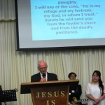 Psalm 91reading led by a CRC Ministe