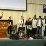 Prayer for protection led by a Charasmatic Minister