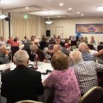 Ps Daniel speaking at Full Gospel Businessmen's Dinner Event