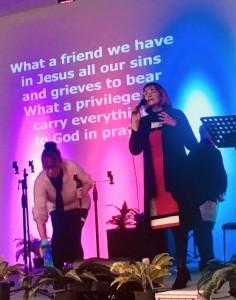 Yvonne Worship team