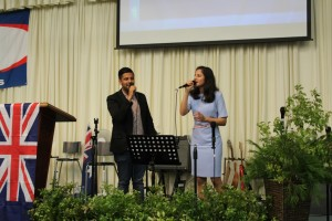 Ps-Daniels-son-Nigel-daughter-Shannen-special-worship-item