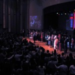 More than 900 people pack the altar as Ps Daniel ministers at SIB Church in KL Malaysia