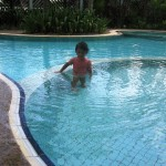 Now 3 years old Brianna Ps Daniel's daughter in swimming pool