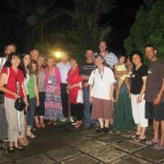 Part of CTFM team before leaving Ps Daniel's family home in SL