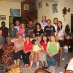 Part of CTFM team with Ps Daniel's family at their home in SL