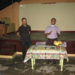 Ps Daniel with Methodist minister