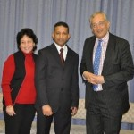Lord Monckton, Pastor Daniel and Wife Maryse