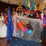 Indonesian prophetic worship dance team