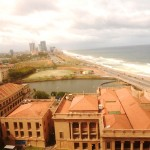 View from 5 star hotel in Colombo, Sri Lanka