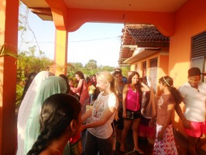 Girl's Home welcoming CTFM team