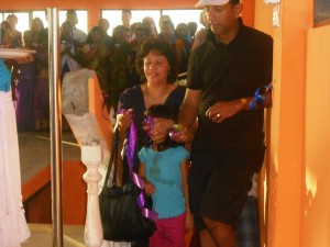 Opening new building for Girl's Home