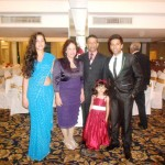 Pr Daniel and family at family wedding in Sri Lanka