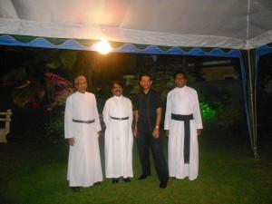 Pr Daniel with Anglican Ministers in Sri Lanka