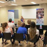 RUAP National Vice-President Rosalie speaking at public meeting